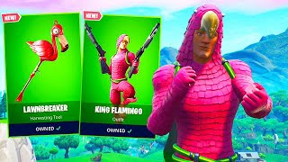 *NEW* KING FLAMINGO Skin in Fortnite..