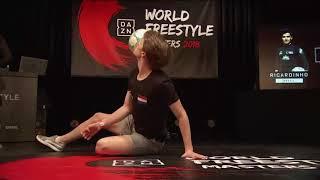 DAZN World Freestyle Masters - Top16 Ricardinho vs Jesse