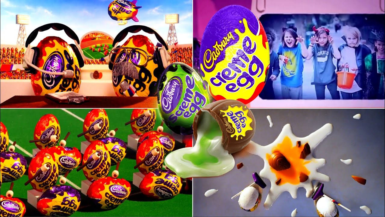 Download All Funny Cadbury Creme Eggs - Here Today, Goo Tomorrow Commercials EVER!