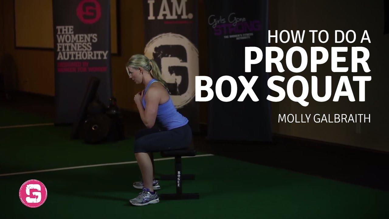 Box Squat - How To Do A Proper Box Squat - YouTube