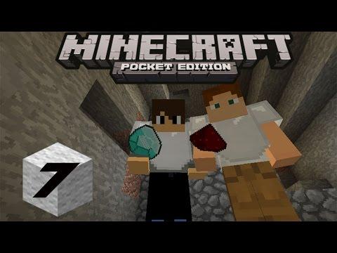 Minecraft P.E Survival Indonesia~Mining berburu diamond (7)