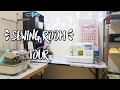 My Sewing Room Tour & Organization