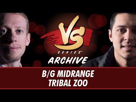 7/31/2017 - Stevens vs Tom: B/G Midrange vs Tribal Zoo [Modern]