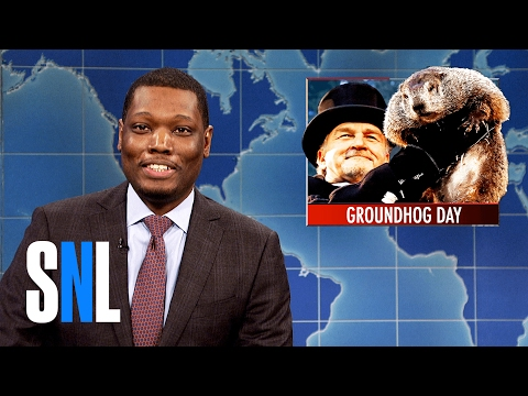 Weekend Update on Punxsutawney Phil - SNL