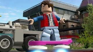 LEGO Dimensions - Marty McFly Open World Free Roam (Character Showcase - Hill Valley)