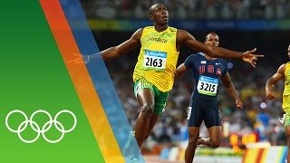 Usain Bolt at Beijing 2008 | Epic Olympic Moments