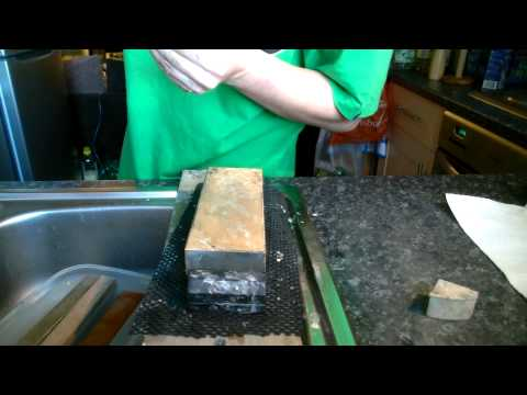 Knife sharpening - Custom Takeda 270mm gyuto
