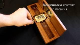 Наручные часы ''Неоника''(Самодельные наручные часы на газоразрядных индикаторах., 2014-11-04T07:54:25.000Z)