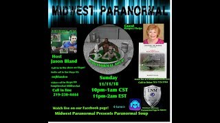 Paranormal Soup ep 159 guest Margery Phelps