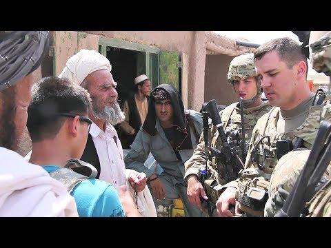 U.S. Army Soldiers Visit Afghan Bazaar