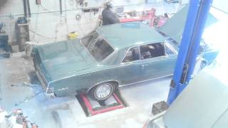 SV ENGINEERING 1965 GTO 389 tri power DYNO TESTING NEW ENGINE
