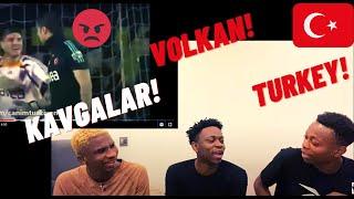 Türk futbolu Kavgalari Football In Turkey Heated Moments