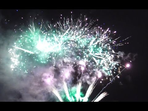 Fireworks at Caerphilly Castle - Bonfire Night 2018