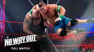 FULL MATCH - John Cena vs. Big Show - Steel Cage Match: WWE No Way Out 2012