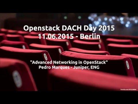 OpenContrail: Advanced SDN for OpenStack