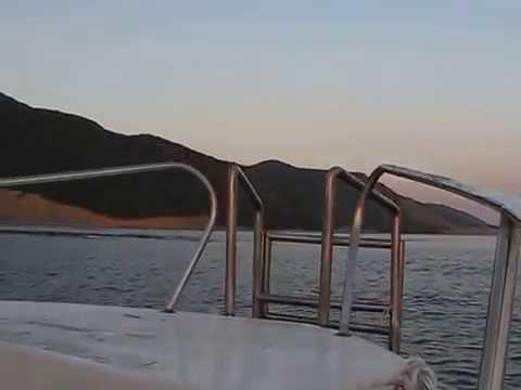 На катере на Утриш