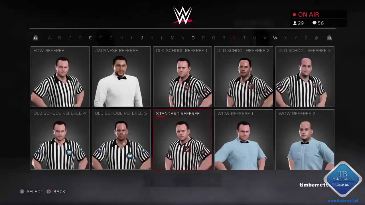 wwe 2k17 how to get interference