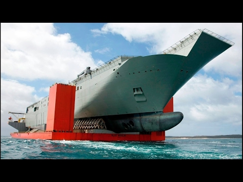 The Largest Heavy Lift Ship in The World 2017