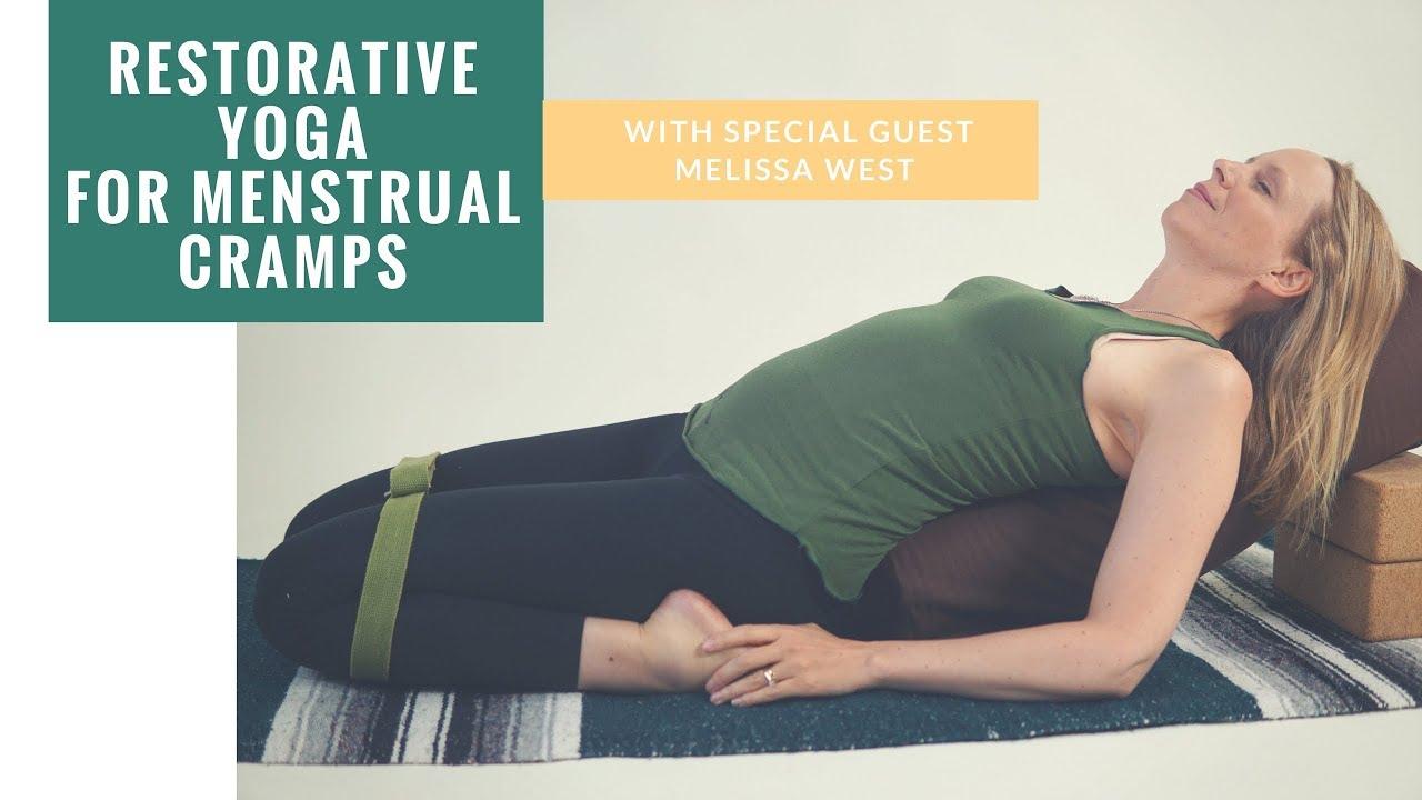 Restorative Yoga For Menstrual Cramps 60 Min Special Guest Dr Melissa West Youtube