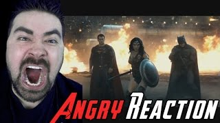BvS Trailer #2 ANGRY RANT Reaction!