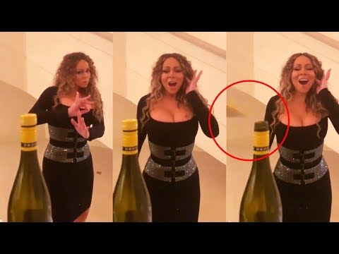 Mariah Carey Does The &39;Bottle Cap Challenge&39; With Her Whistle Notes