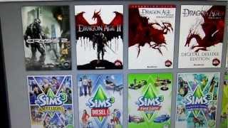 Downloading Sims 3 via Origin