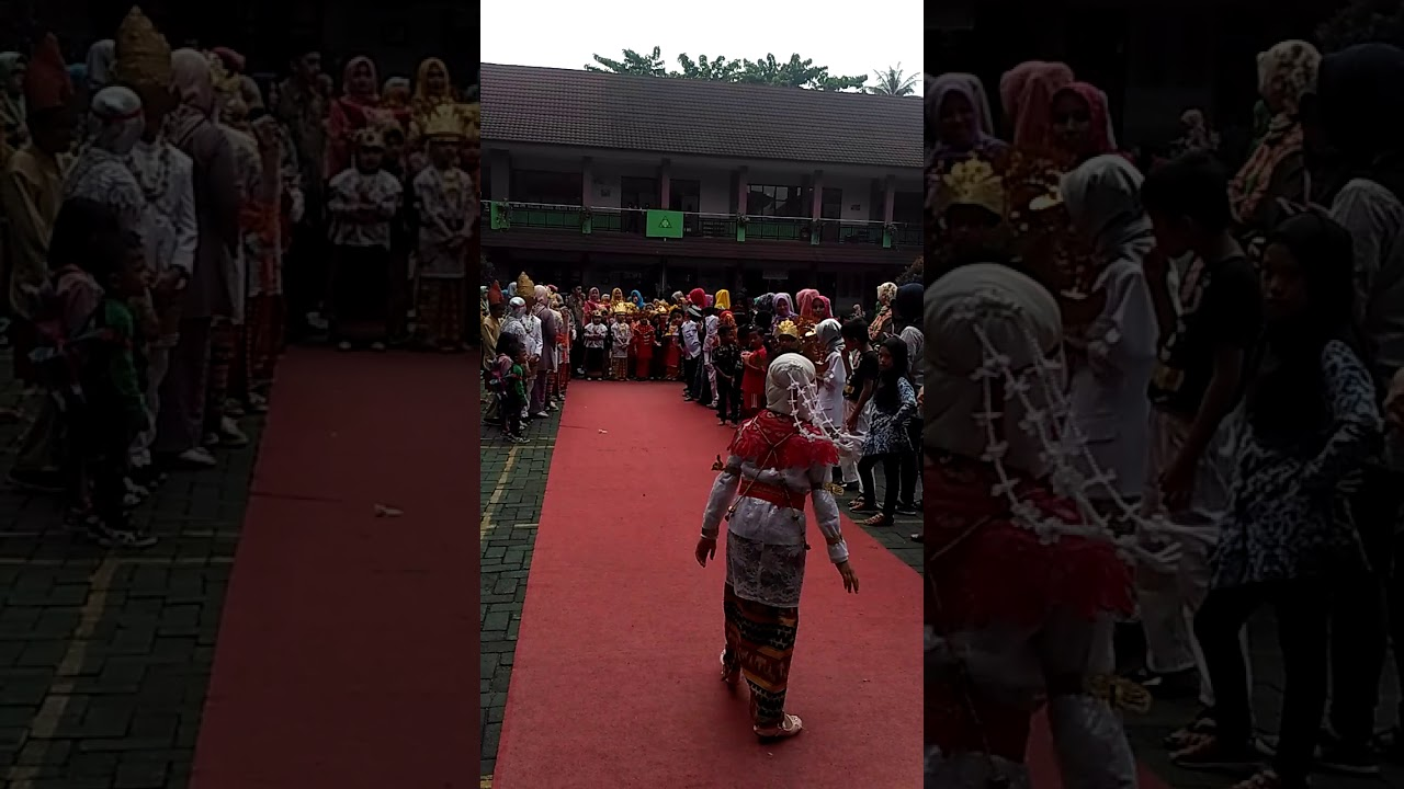 Download Model Catwalk Baju Padang kakak Muthia #HariKartini#2A#SD ALkautsar