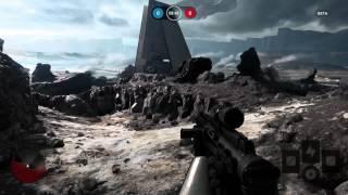Star Wars Battlefront Beta Gameplay