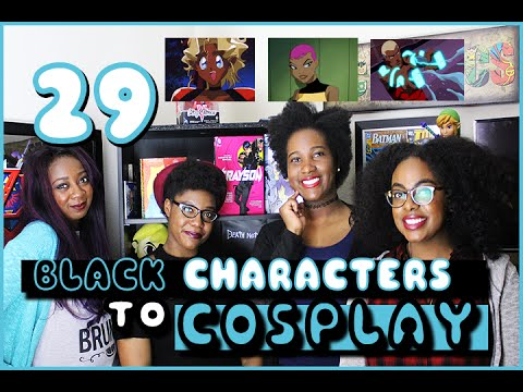 29 Black Characters to Cosplay w/Chaka! - Pretty Brown and Nerdy! #29DaysOfBlackCosplay