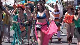 ⁴ᴷ Best Highlights The 36th Annual Coney Island Mermaid Parade 2018 - New York City - P1
