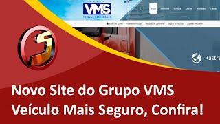 Criação do Novo Site do Grupo VMS - Veículo Mais Seguro em Rio Negrinho, SC - Samuca Webdesign