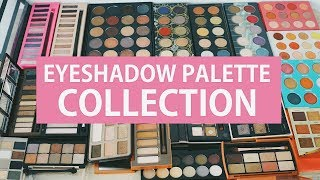 MAKEUP COLLECTION INDONESIA : EYESHADOW PALETTE + REVIEW | ENG SUB