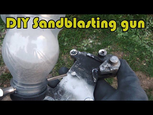 [DIY] Tiny sandblasting gun for 4$ :)