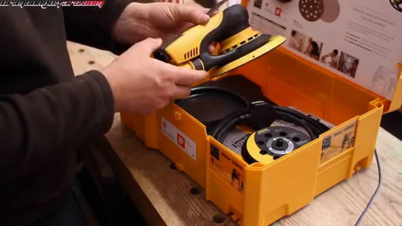 Пневматические шлифовальные машинки MIRKA - YouTube
