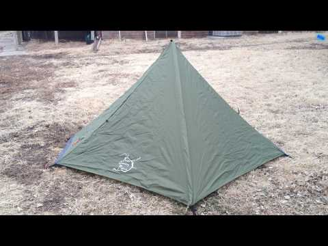 Ultralight Tent First Impressions - River Country Products Trekker V1.0