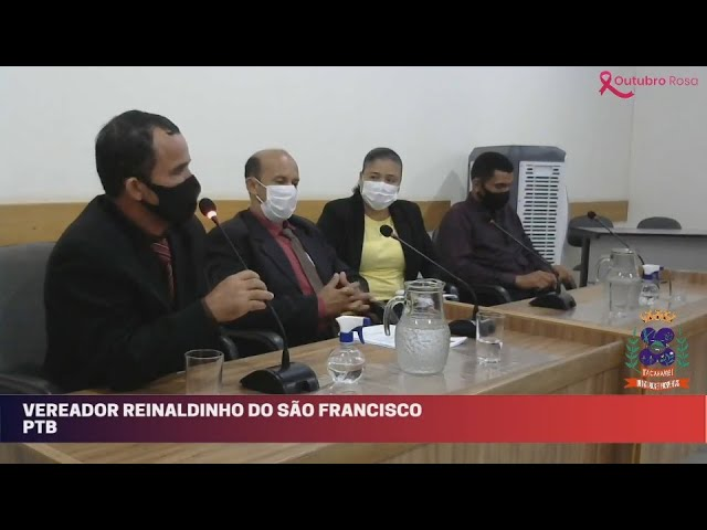 Câmara Municipal de Vereadores de Itacarambi MG Reunião realizada no dia 22/10/2021