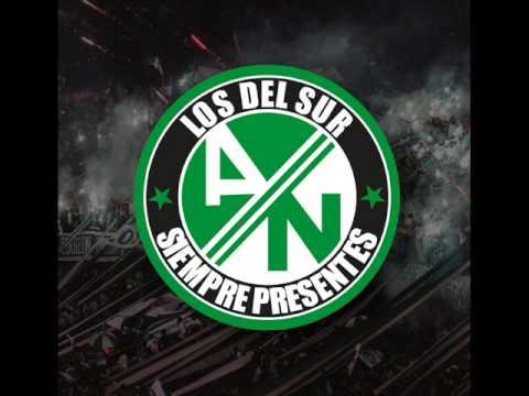 La Banda Los Del Sur  CANTICOS Mix3  Los Del Sur Siempre Presentes  Atletico Nacional  2014