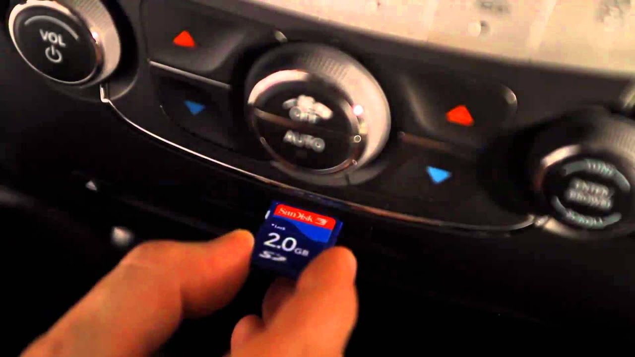 2012 Fiat Freemont Interior Youtube