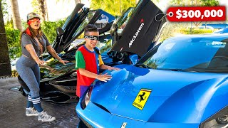 BUYING Any CAR We Want But BLINDFOLDED! (Big Surprise) | The Royalty Family
