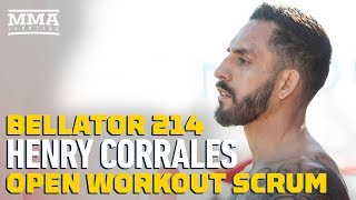 Bellator 214: Henry Corrales Discusses Training With 'Korean Zombie' Ahead Of Aaron Pico Fight