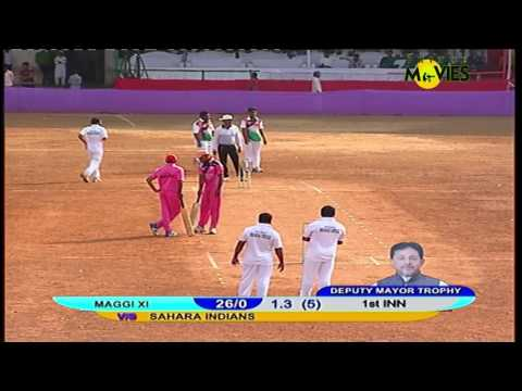 MAGGI XI vs SAHARA INDIAN || DEPUTY MAYOR TROPHY || PARSHURAM TAWRE STADIUM || 2017