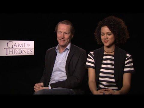 Game of Thrones 5ος κύκλος, Συνεντεύξεις πρωταγωνιστών, Iain Glen & Nathalie Emmanuel