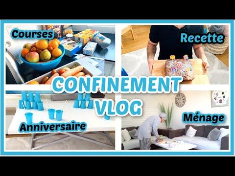 routine-mÉnage-🧼,-courses-🍎,recette-🍩et-anniversaire-🎂-#confinement-#coronavirus