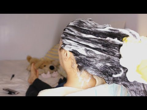 ASMR DEEP CLEAN Shampoo, SOOTHING Scalp Massage + INVIGORATING Scalp Scratching w. Gloves !!