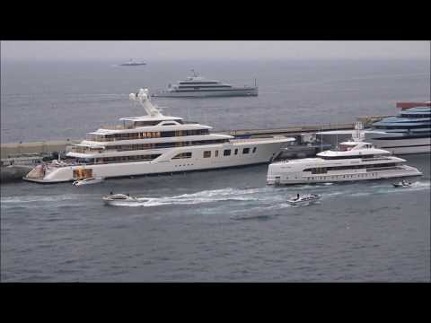 """Heesen Yachts' 49.8m/ 163'4"""" Home at the Monaco Yacht Show"""