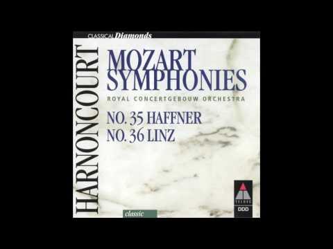 Mozart: Haffner symphony K. 385 - Harnoncourt