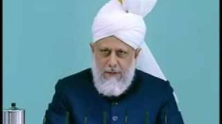 Friday Sermon : 30th October 2009 - Part 2 (Urdu)