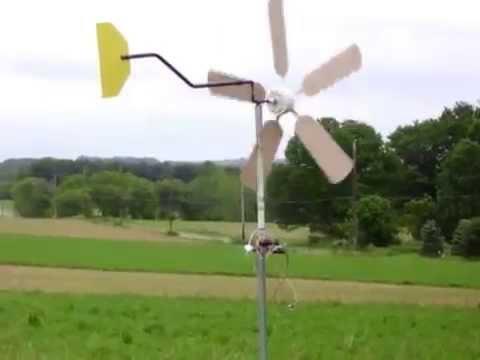 Building a ceiling fan wind turbine youtube building a ceiling fan wind turbine aloadofball Choice Image