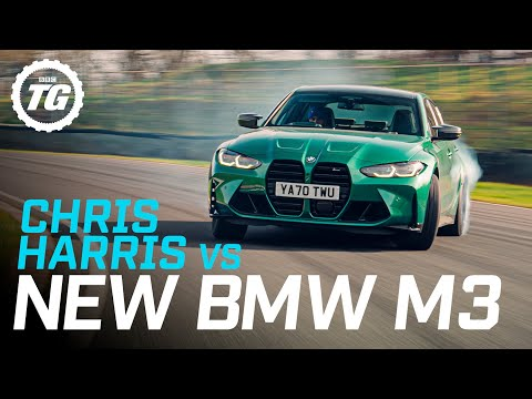 Review: Chris Harris drives the new BMW M3   Top Gear