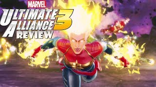 Marvel Ultimate Alliance 3 (Switch) Review (Video Game Video Review)